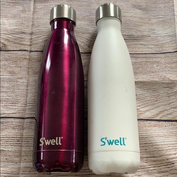 S/'well Water Bottle Beige Camo 17oz and 25oz NIB